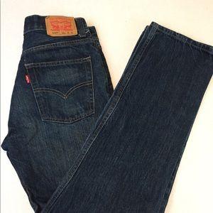 Levi 29x29 Super skinny jeans DENIM Men EUC